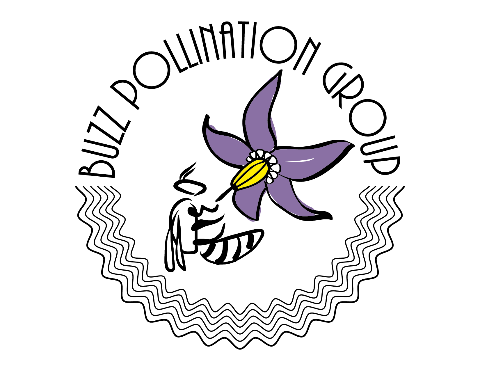 LOGO BUZZ POLLINATION GROUP
